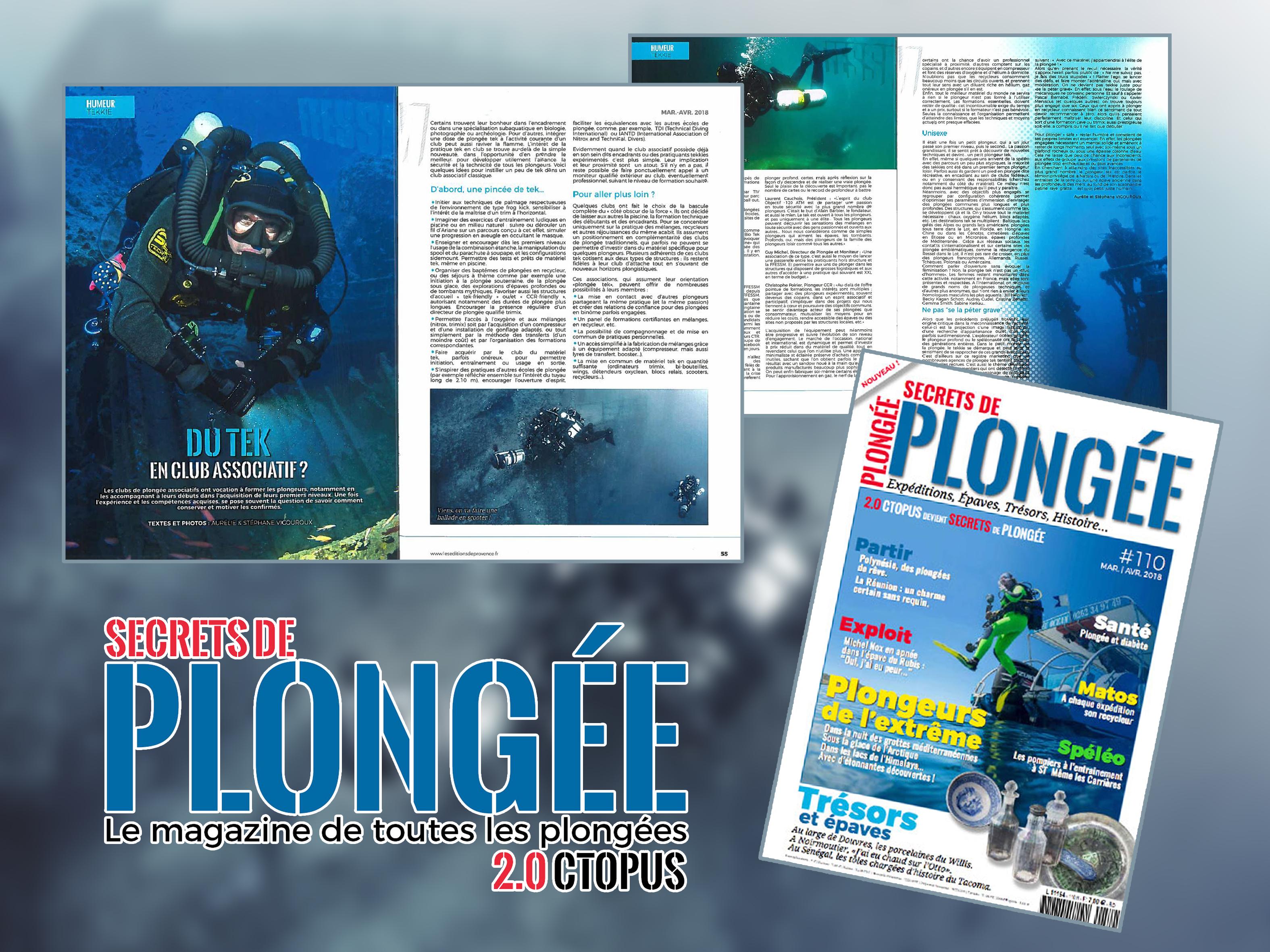 Secrets de Plongée #110