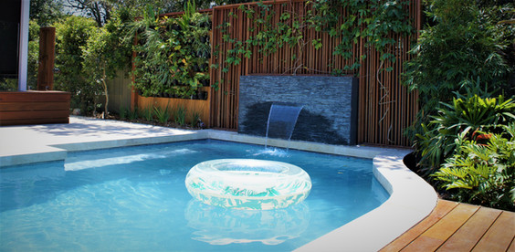 Brisbane pool and landscaping