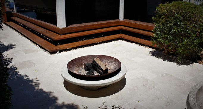 Spotted gum steps