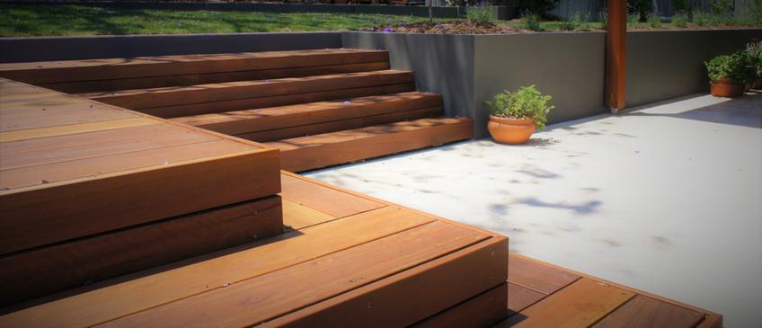Deck steps Brisbane