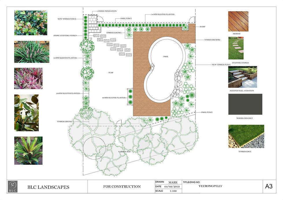YEERONGPILLY garden design