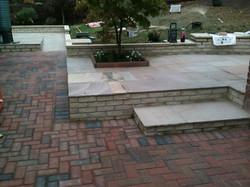 walling, brick pavings and slabs