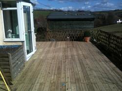 finished decking