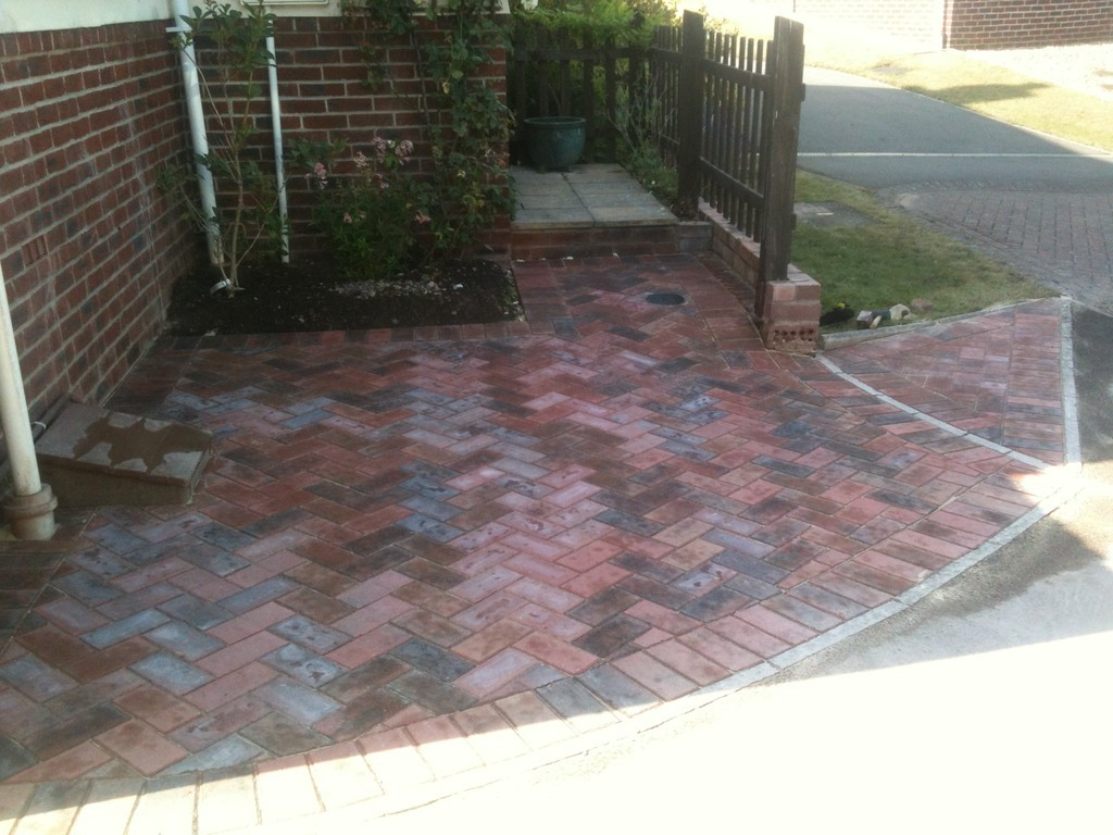 finished paving