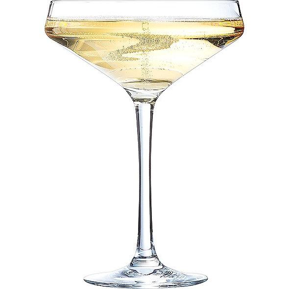 Бокал для шампанского «Каберне», 300 мл., блюдце