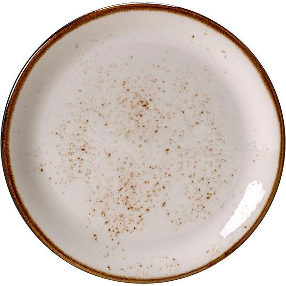 Тарелка мелкая «Крафт», D 30, круглая; белая