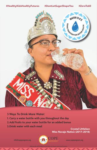 Crystal Littleben Water Champion Poster
