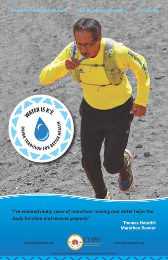 Thomas Hatathli Water Chamption Poster