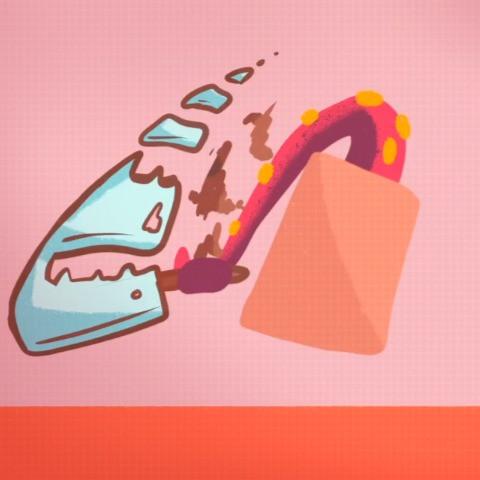 Knife Wielding Tentacle
