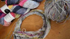 Another Loss, Juneteenth, and Some Knitting