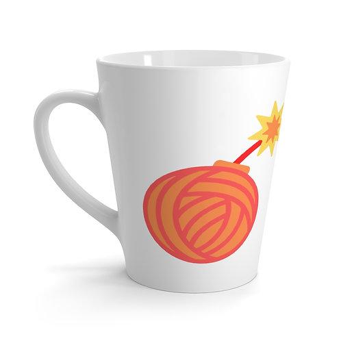 Yarn bomb mug | Yarn bombing merch | Yarn bombing gift | Yarn bombing coffee mug