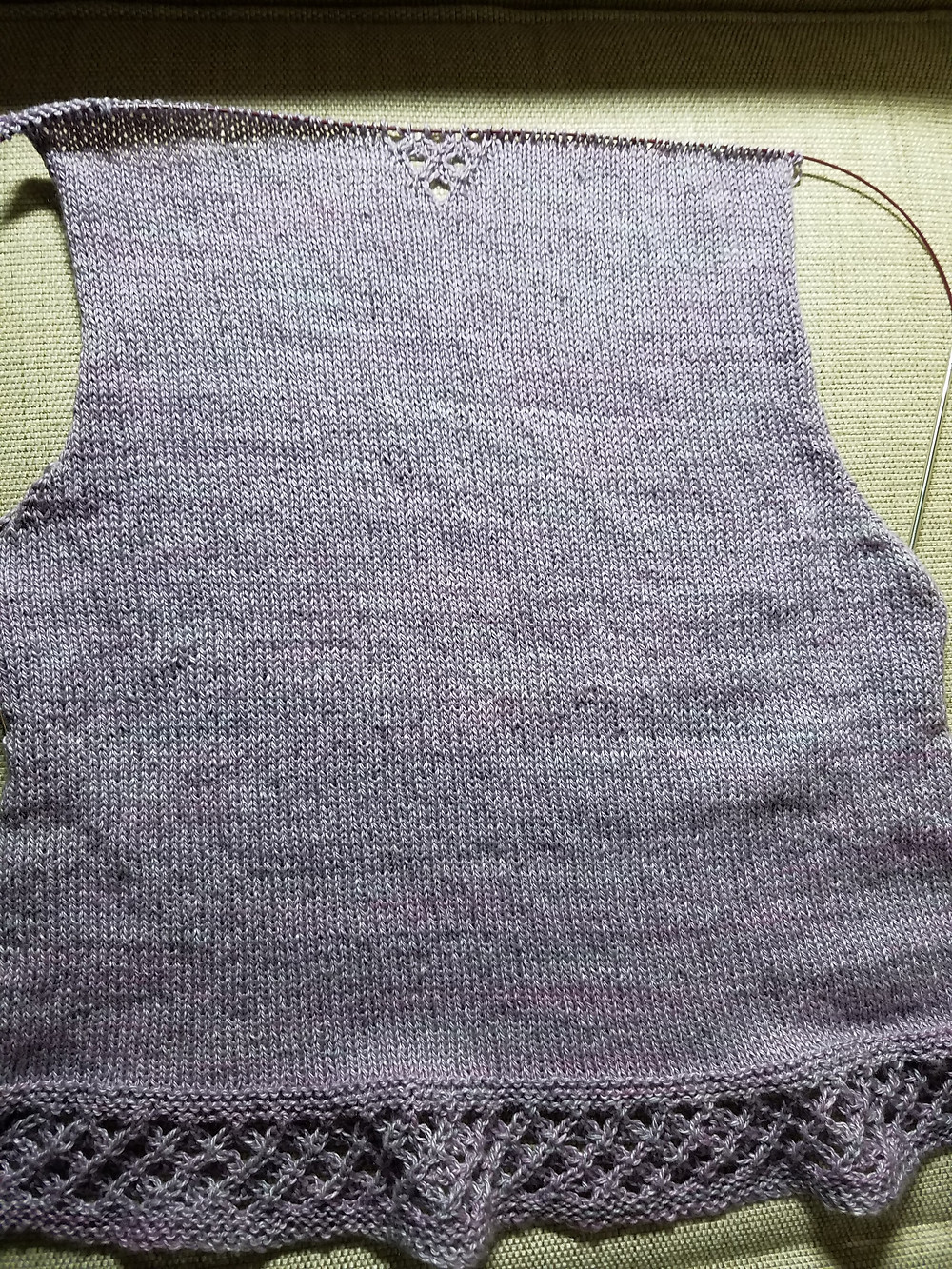 Corrina Sweater Back