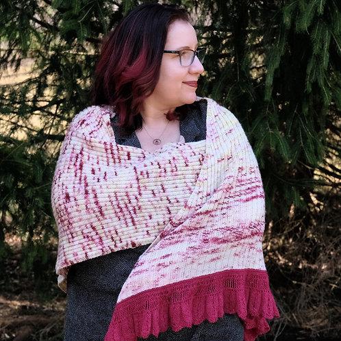 Joy Shawl Knit Pattern