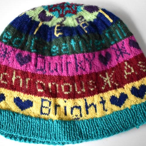 2e Awareness Hat Knit Pattern