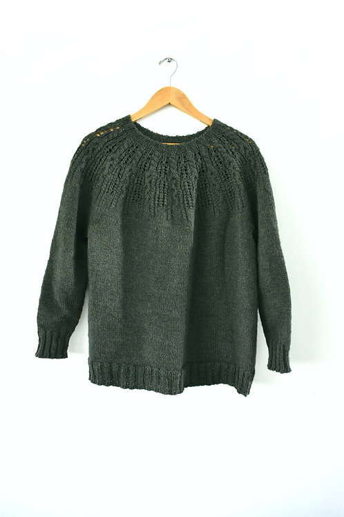 Cabable Sweater Knit Pattern