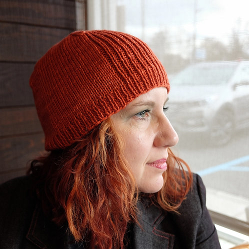 Big Bad Beanie Knit Pattern
