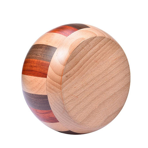 Beautiful wood yarn bowl