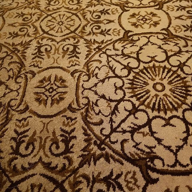 Hallway carpet at the Pierre Hotel