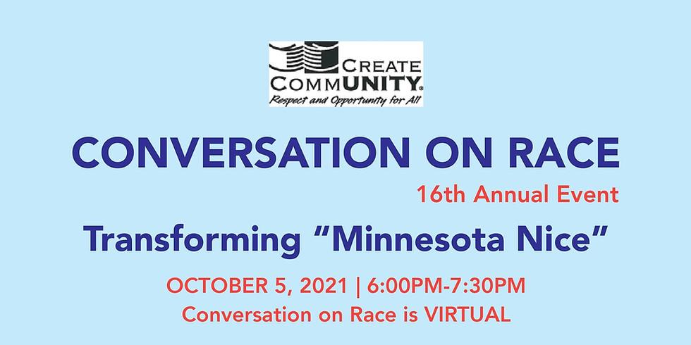 16th Annual (Virtual) Conversation on Race