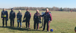 Team Introductions including 50 lbs parachute