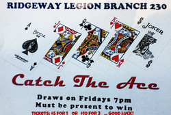 Catch the Ace next draw Nov 13th, 2020