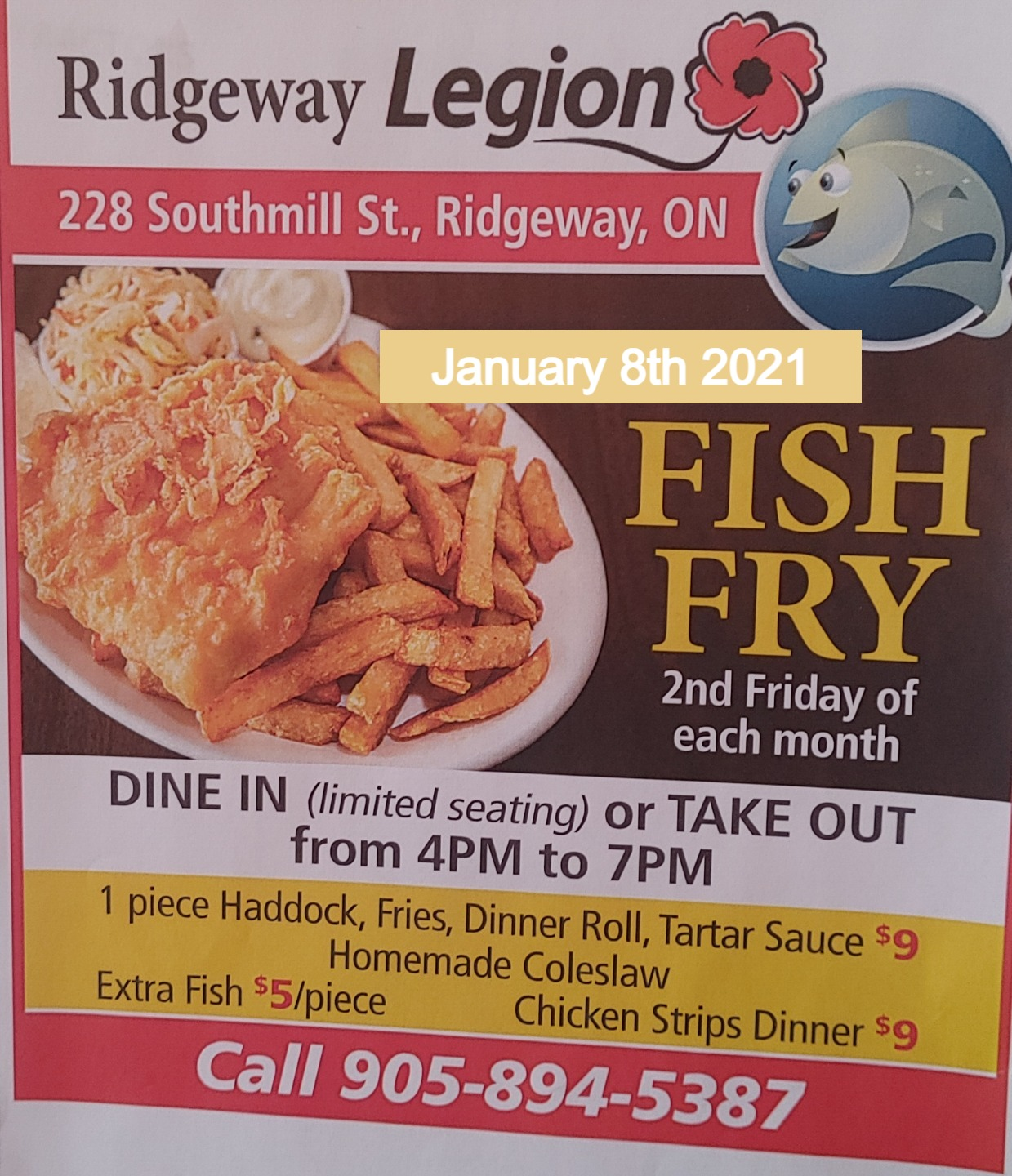 Fish Fry monthly