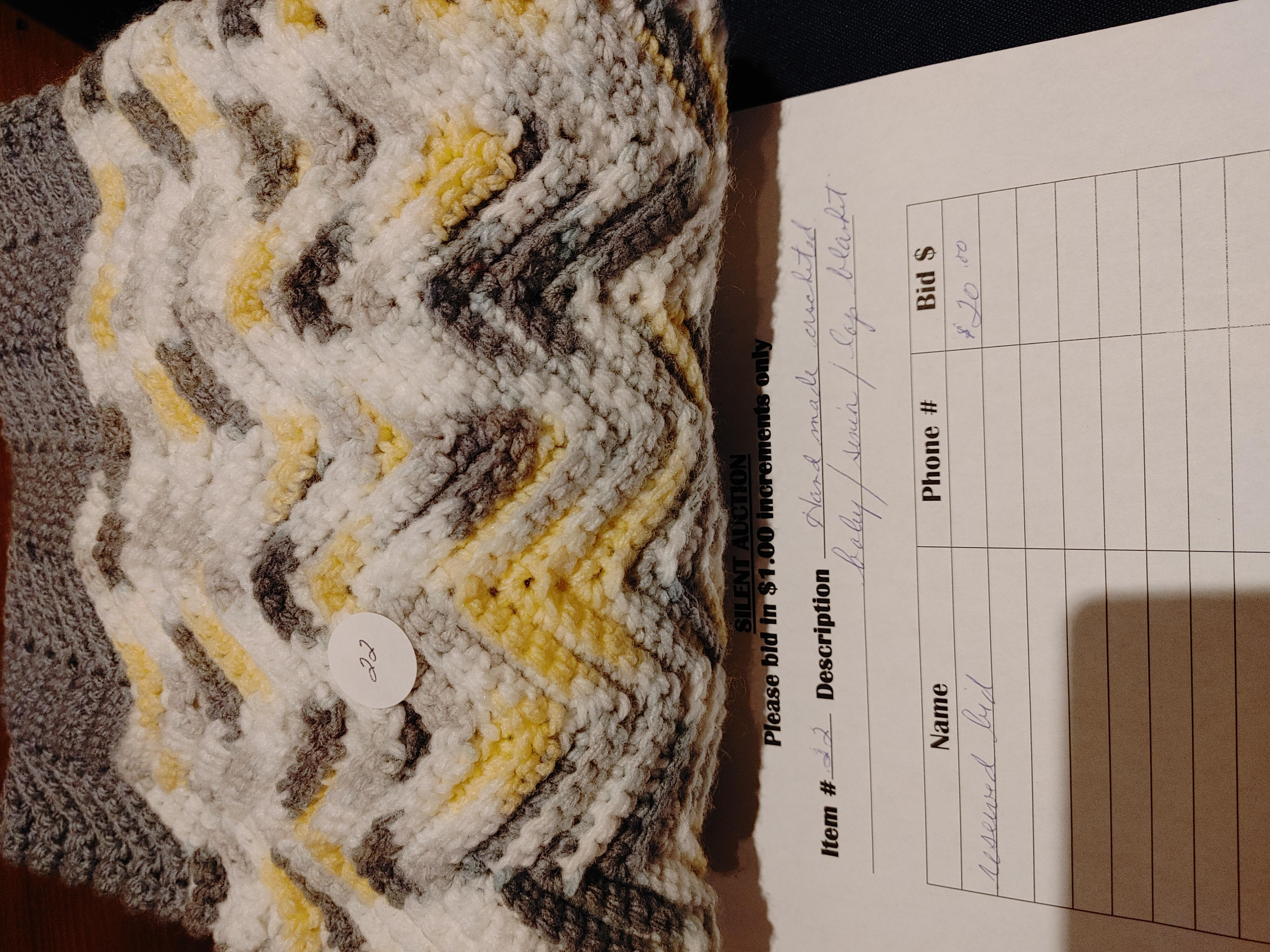 #22 Grey Blanket