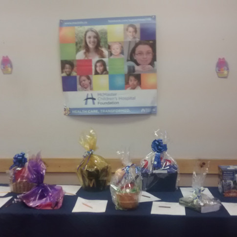 Silent Auction - Thank You Niagara Region for your great donations!