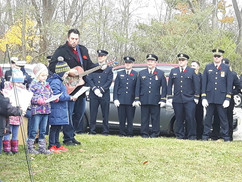St George Choir & Firefighters Crystal Beach & Ridgeway