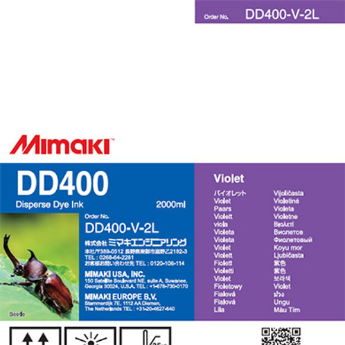 DD400 Disperse dye ink pack Violet