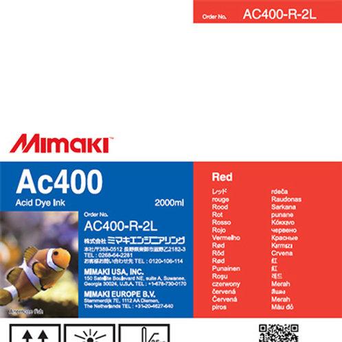 Ac400 Acid dye ink pack Red