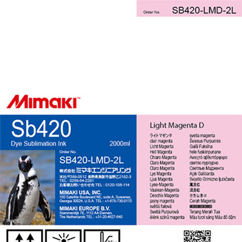 Sb420 Dye sublimation ink pack Light Magenta D