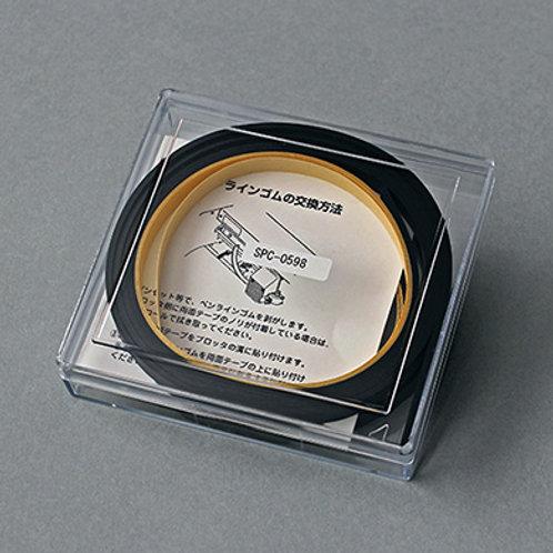 Pen-line rubber 100