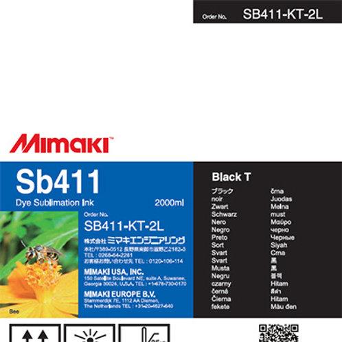 Sb411 Dye sublimation ink pack Black T