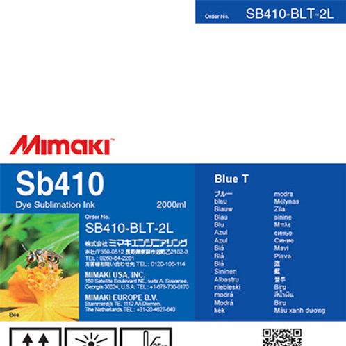 Sb410 Dye sublimation ink pack Blue T