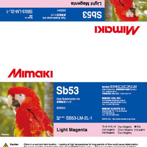 Sb53 Dye sublimation ink pack Light Magenta