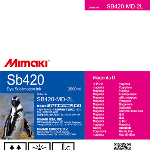 Sb420 Dye sublimation ink pack Magenta D