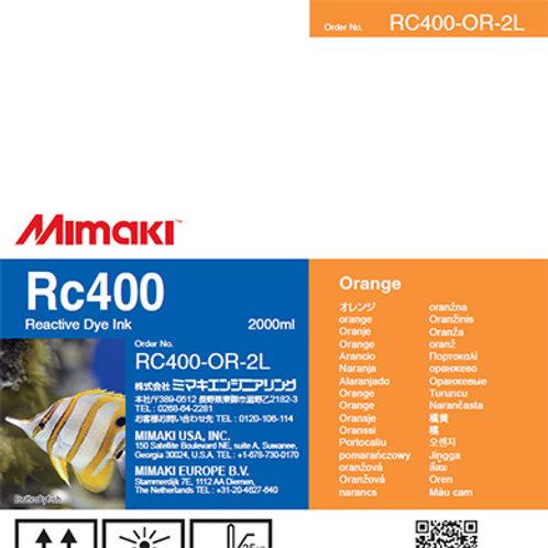 Rc400 Reactive dye ink pack Orange