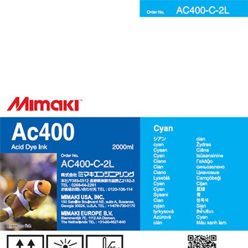Ac400 Acid dye ink pack Cyan