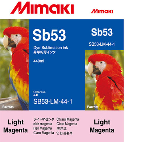 Sb53 Dye sublimation ink cartridge Light Magenta