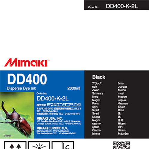 DD400 Disperse dye ink pack Black