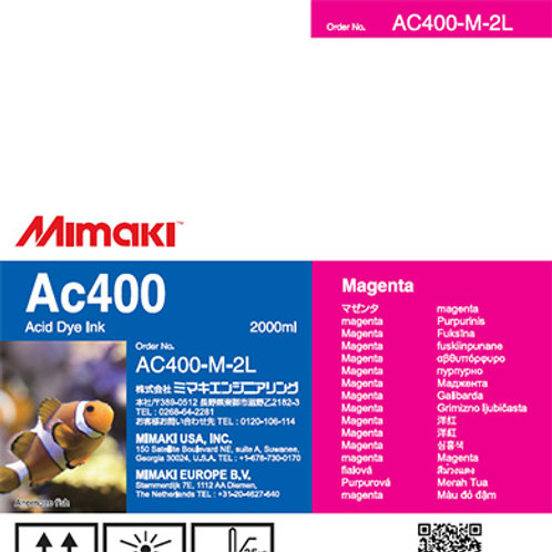 Ac400 Acid dye ink pack Magenta