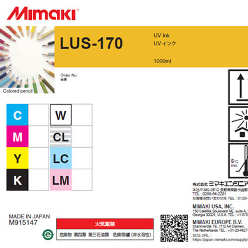 LUS-170 UV curable ink 1L bottle Yellow