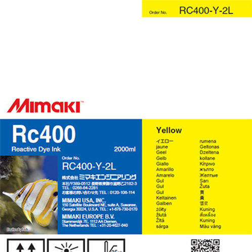 Rc400 Reactive dye ink pack Yellow