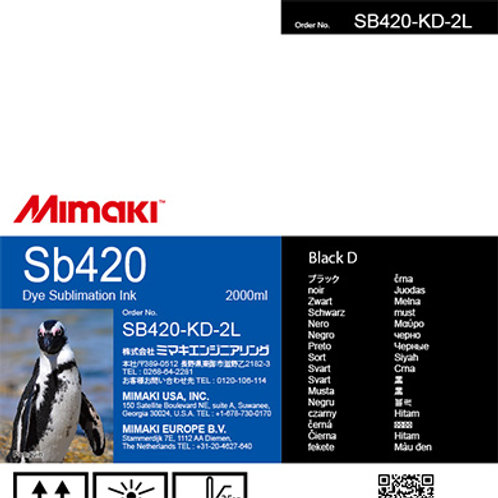 Sb420 Dye sublimation ink pack Black D