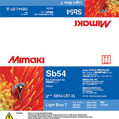 Sb54 Dye sublimation ink pack Light Blue T