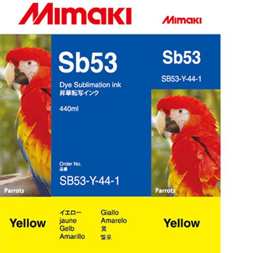 Sb53 Dye sublimation ink cartridge Yellow
