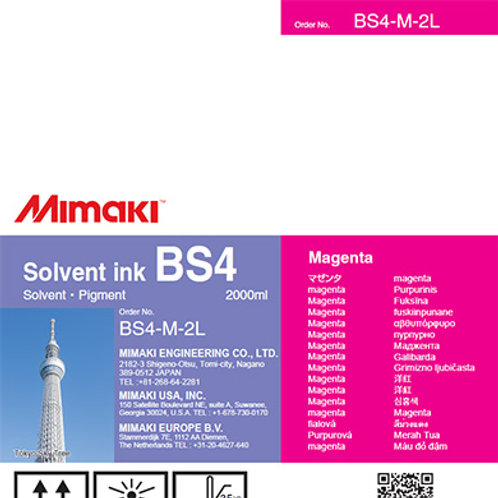 BS4 Solvent ink pack Magenta