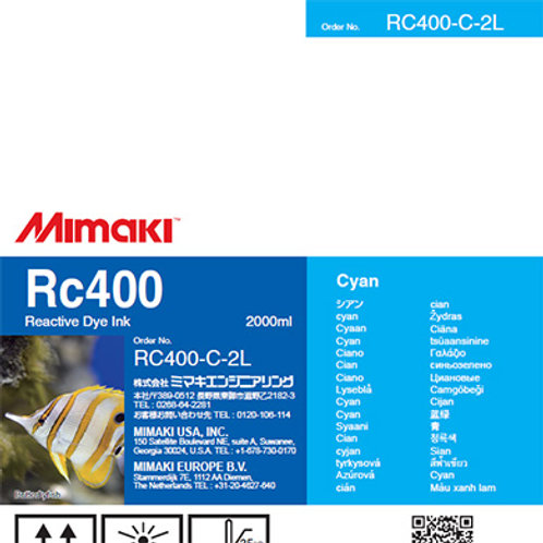 Rc400 Reactive dye ink pack Cyan