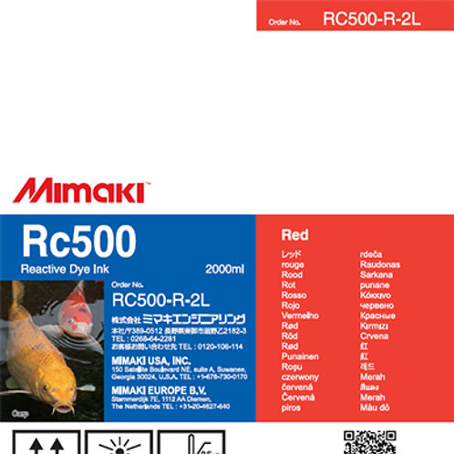 Rc500 Reactive dye ink pack Red